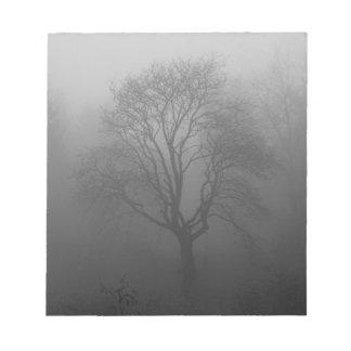 Árbol en la niebla libretas para notas
