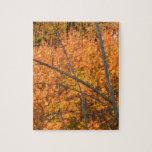 Árbol en regalía del otoño rompecabezas con fotos