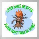 árbol enojado impresiones