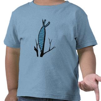 Árbol-Escalador en la cima del mundo Camisetas