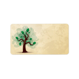 Árbol Etiqueta De Dirección