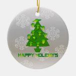 Árbol extranjero del día de fiesta ornamento de navidad