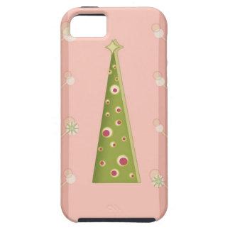 Árbol fabuloso del día de fiesta - caso del compañ iPhone 5 protector