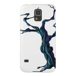 Árbol fantasmagórico de Halloween Funda Para Galaxy S5
