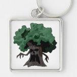 Árbol fantasmagórico llavero personalizado
