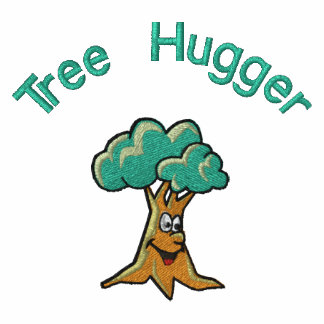 Árbol feliz lindo Hugger del árbol