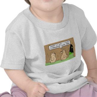 árbol fermentado oso borracho de la miel camiseta