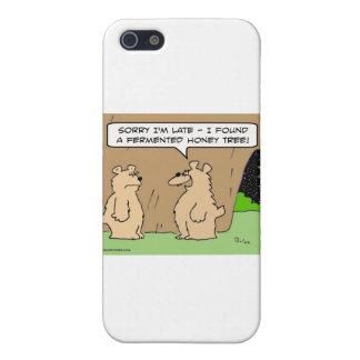 árbol fermentado oso borracho de la miel iPhone 5 fundas