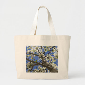 Árbol floreciente de Colorado Bolsa Tela Grande