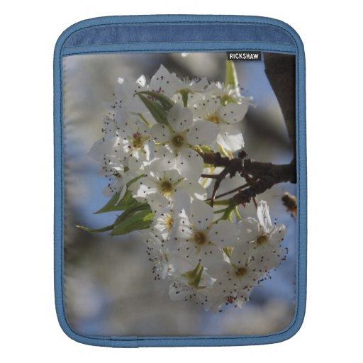 Árbol floreciente y abeja manga de iPad
