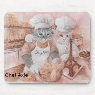 Árbol francés Mousepad del cocinero