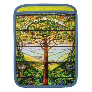 Árbol frutal colorido escénico inspirado funda para iPads
