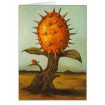 Árbol frutal córneo felicitaciones