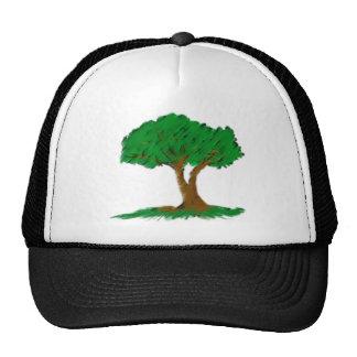 árbol gorros