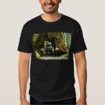 Árbol grande Wawona, arboleda de Mariposa, vintage Polera