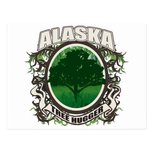 Árbol Hugger Alaska Postal
