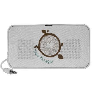 Árbol Hugger iPod Altavoz
