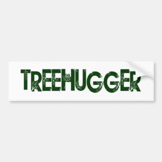 Árbol Hugger Pegatina De Parachoque
