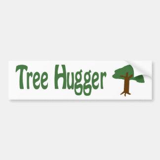 Árbol Hugger Etiqueta De Parachoque