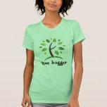 Árbol Hugger Camiseta