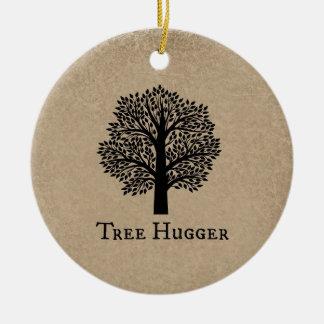 Árbol Hugger de Brown Ornaments Para Arbol De Navidad