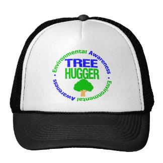 Árbol Hugger del ambiente Gorras
