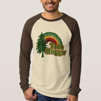 Árbol Hugger, Día de la Tierra divertido Polera