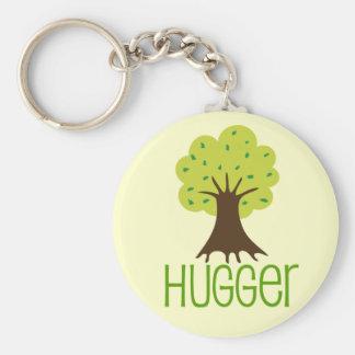Árbol Hugger Llaveros Personalizados