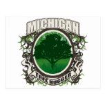 Árbol Hugger Michigan Postal