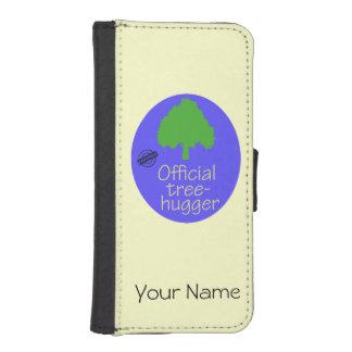Árbol-Hugger oficial Fundas Billetera De iPhone 5