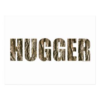 Árbol Hugger Postales
