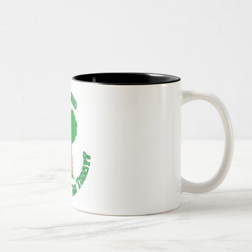 Árbol Hugger Tazas De Café