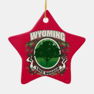 Árbol Hugger Wyoming Adorno Navideño De Cerámica En Forma De Estrella