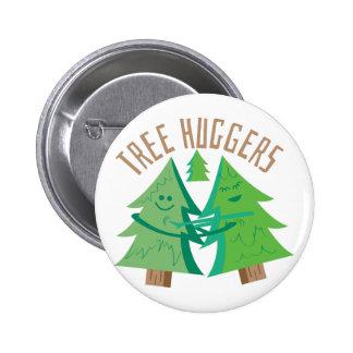 Árbol Huggers Pin Redondo 5 Cm