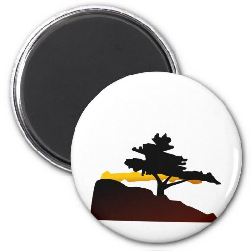 árbol imán redondo 5 cm