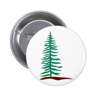 Árbol imperecedero pin redondo de 2 pulgadas