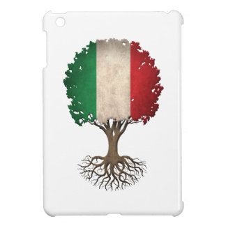 Árbol italiano de la bandera del personalizable de