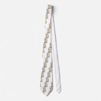 Árbol jacobeo del bordado de la lana para bordar d corbata