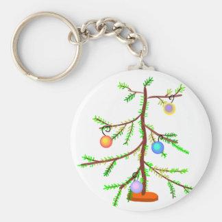 Árbol larguirucho llavero redondo tipo pin