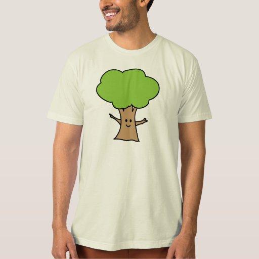 Árbol lindo camisas