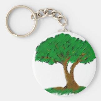 árbol llavero redondo tipo pin