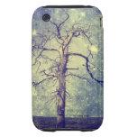 Árbol mágico del universo tough iPhone 3 protectores