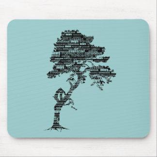 Árbol Mousepad de Bodhi Alfombrilla De Ratones