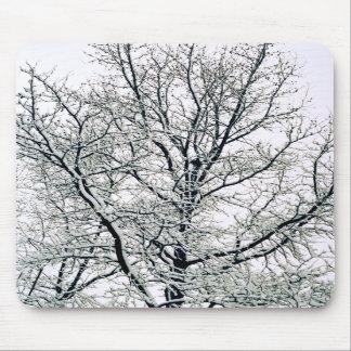 Árbol Mousepad del invierno Alfombrillas De Ratones