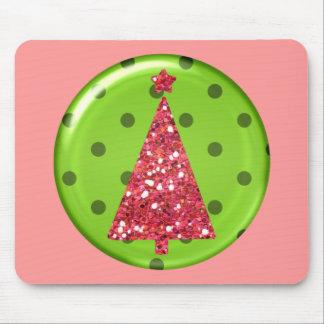 Árbol Mousepad del ornamento del navidad Alfombrillas De Raton