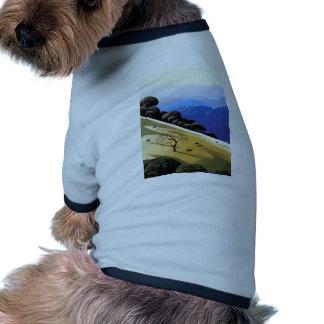 Árbol muerto alto Rez.jpg Camiseta Con Mangas Para Perro