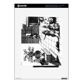 Árbol musical de la canción del pájaro, c.1670 pub iPad 3 skin