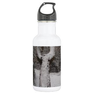 Árbol nevado en el bosque de Epping