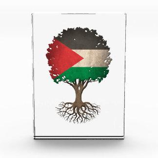 Árbol palestino de la bandera del personalizable