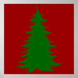 Árbol para el navidad posters